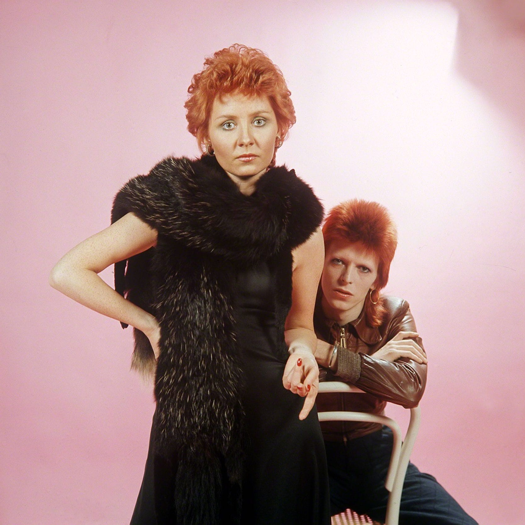 Bowie, Bond & Lulu: she has a powerful weapon (even though she's very small)